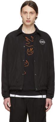 McQ Black Windcheater Jacket