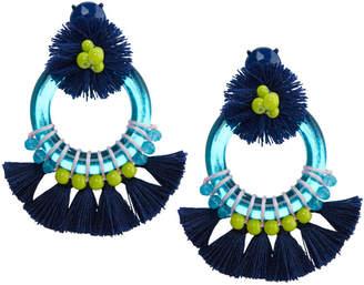 Vineyard Vines Mirrored Tassel Earrings