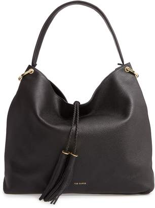 Ted Baker Demmi Double Tassel Leather Hobo