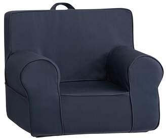 Pottery Barn Kids My First Dark Blue Twill Anywhere Chair®
