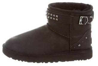 UGG Australia Neva Deco Swarovski Ankle Boots $95 thestylecure.com