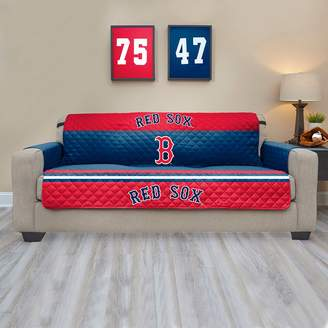 Boston Red Sox Quilted Sofa Cover