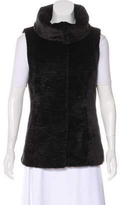 T Tahari Faux Fur Vest