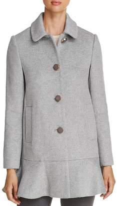 Kate Spade Flutter Hem Coat