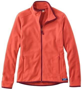 L.L. Bean L.L.Bean Soft-Brushed Fitness Fleece Zip-Pocket Jacket