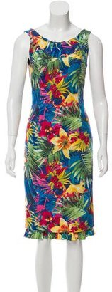 Karen Millen Sleeveless Floral Print Dress $90 thestylecure.com