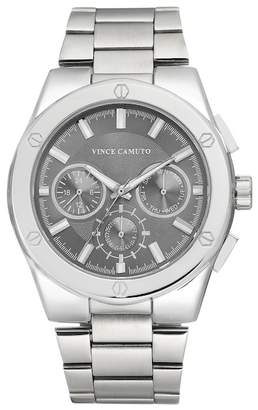 Vince Camuto Men's 2 Zone Bracelet Watch, 45mm