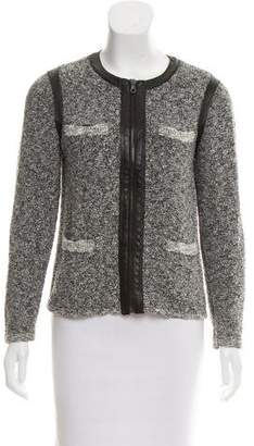 Rag & Bone Zip-Up Knit Jacket