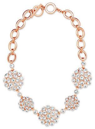 Anne KleinAnne Klein Cubic Zirconia Collar Necklace