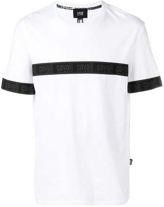 Class Roberto Cavalli logo strap T-shirt