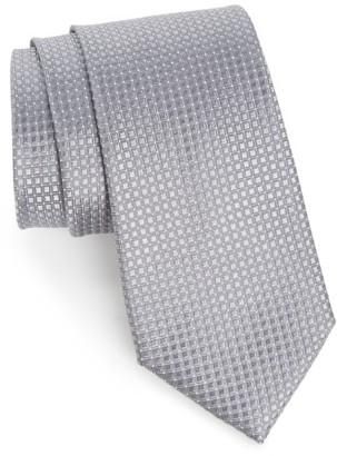 Men's Nordstrom Men's Shop Geometric Silk Tie $49.50 thestylecure.com