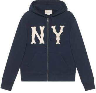 Gucci Men's sweatshirt with NY YankeesTM patch