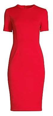 Yigal Azrouël Azrouël Women's Short Sleeve Sheath Dress - Size 0
