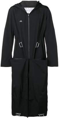 Oakley By Samuel Ross hooded long coat