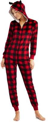 Buffalo David Bitton Family PJs Holiday Family Sleep Plaid Union Suit Pajama (Women's)