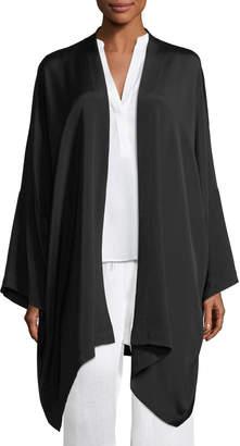 eskandar Long Open-Front Jacket