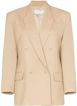 Low Classic double-breasted wool blazer