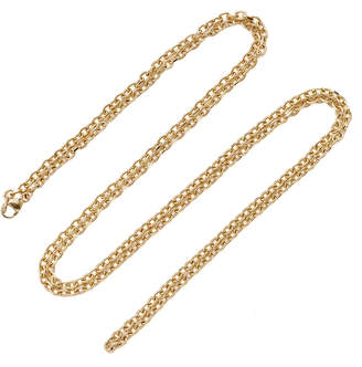 """Emily and Ashley 30"""" Locket Charm Chain Necklace"""