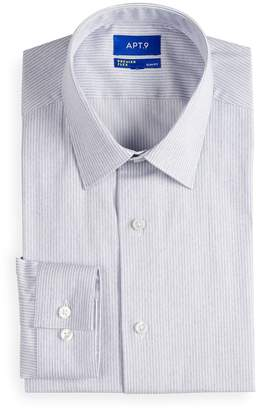 319f17072 Apt. 9 Men's Slim-Fit Premier Flex Collar Stretch Dress Shirt