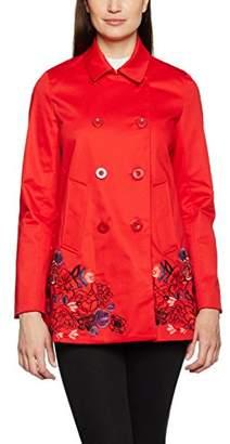 Desigual Women's Abrig_Norma Coat,12