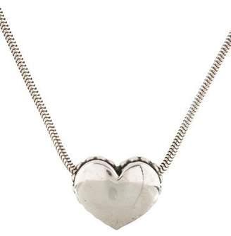 CAViAR Heart Pendant Necklace