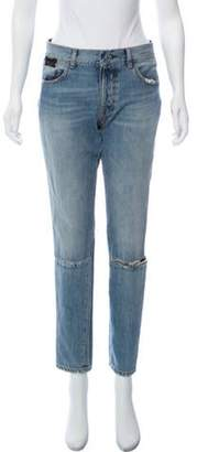 Taverniti So Ben Unravel Project Mid-Rise Distressed Jeans blue Ben Unravel Project Mid-Rise Distressed Jeans