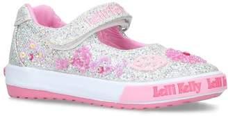 Lelli Kelly Kids Glitter Daisy Flats