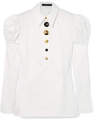 Ellery Breuer Cotton-twill Shirt - White