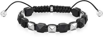 Thomas Sabo Blackened Sterling Silver Studded Bracelet