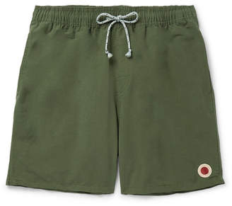Mollusk Mid-Length Cotton-Blend Swim Shorts