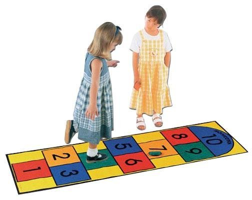 Learning Carpets Hopscotch
