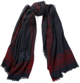 Ralph Lauren Plaid Blanket Scarf