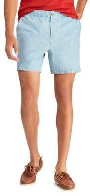 Polo Ralph Lauren Classic-Fit Chambray Prepster Shorts
