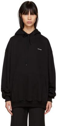 Balenciaga Black Mini Logo Hoodie