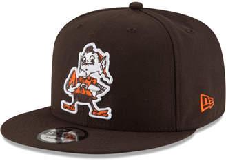 New Era Cleveland Browns Historic Vintage 9FIFTY Snapback Cap