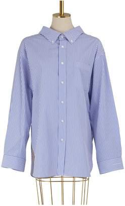 Balenciaga Swing collar oversized shirt