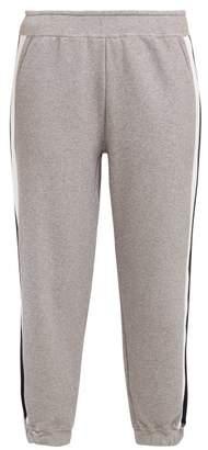 LNDR Horizon Stretch Cotton Track Pants - Womens - Grey Stripe