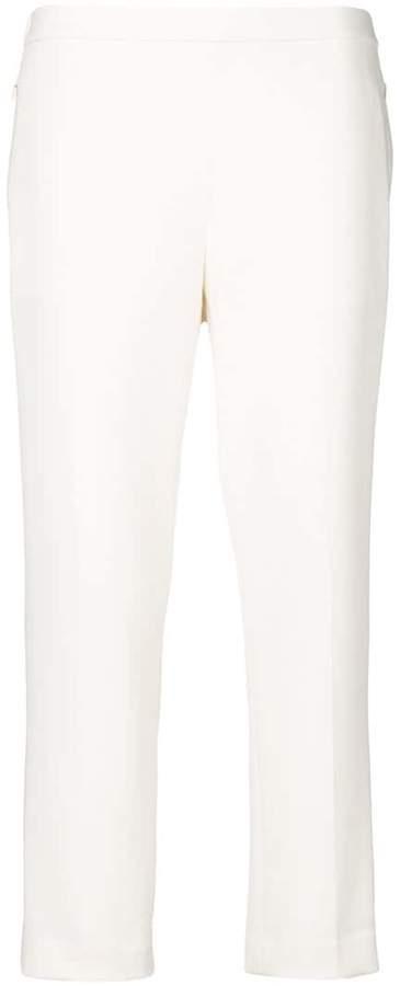 Cropped-Hose mit schmaler Passform