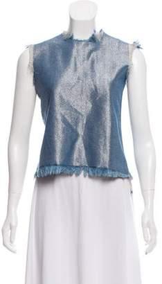 Marques Almeida Marques'Almeida Frayed Denim Vest