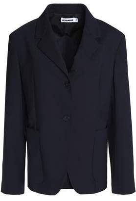 Jil Sander Paneled Virgin Wool-Blend Blazer