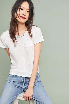 Meadow Rue Trimmed Pocket Tee