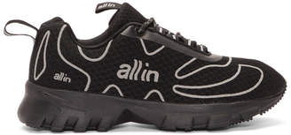 all in Black Tennis Sneakers