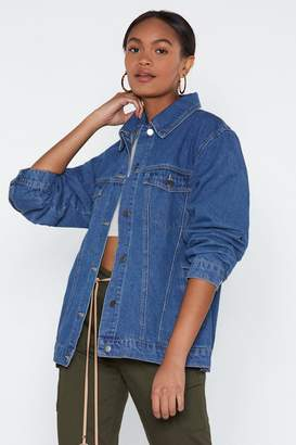 Nasty Gal Mine Now Denim Jacket