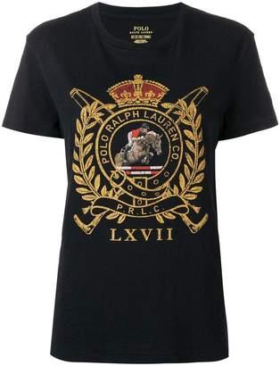 Polo Ralph Lauren (ポロ ラルフ ローレン) - Polo Ralph Lauren crest graphic T-shirt
