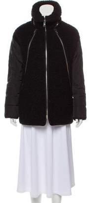 Moncler Gamme Rouge Anita Wven Puffer Coat