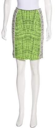 Kenzo Intarsia Mini Skirt
