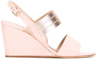 Fratelli Rossetti sling-back wedge sandals