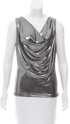 Tart Metallic Sleeveless Top