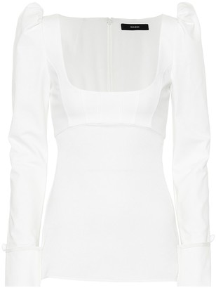 Ellery Expolio Puff Sleeve top