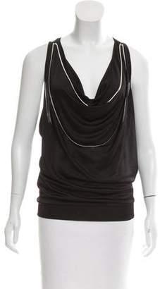 Jean Paul Gaultier Sleeveless Embellished Top